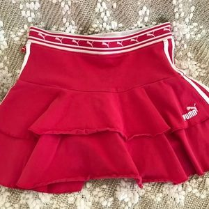 Puma-Golf Skirt Tennis Skort (Girls-L)